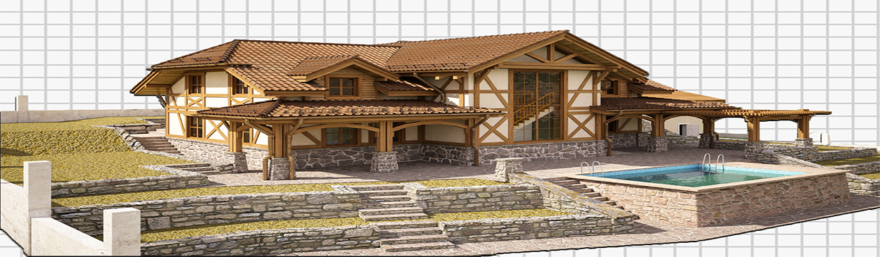 Строительство домов в Краснодарском крае и Грузии